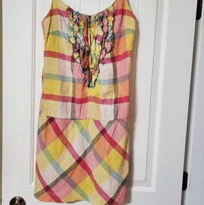 Dept multi color color dress.
